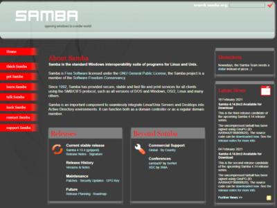 SAMBAでドメインメンバー(NAS)を構築した記録(Ver.4.13.4)